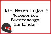 Kit Motos Lujos Y Accesorios Bucaramanga Santander