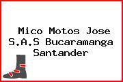 Mico Motos Jose S.A.S Bucaramanga Santander