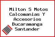 Milton S Motos Calcomanias Y Accesorios Bucaramanga Santander