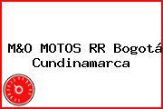 M&O MOTOS RR Bogotá Cundinamarca