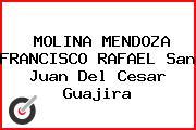 MOLINA MENDOZA FRANCISCO RAFAEL San Juan Del Cesar Guajira