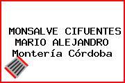 MONSALVE CIFUENTES MARIO ALEJANDRO Montería Córdoba