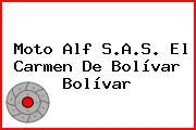Moto Alf S.A.S. El Carmen De Bolívar Bolívar