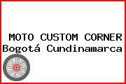 MOTO CUSTOM CORNER Bogotá Cundinamarca