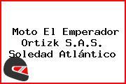 Moto El Emperador Ortizk S.A.S. Soledad Atlántico