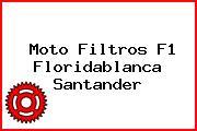 Moto Filtros F1 Floridablanca Santander