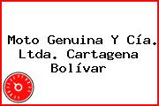 Moto Genuina Y Cía. Ltda. Cartagena Bolívar