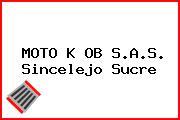 MOTO K OB S.A.S. Sincelejo Sucre