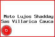 Moto Lujos Shadday Sas Villarica Cauca