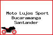 Moto Lujos Sport Bucaramanga Santander