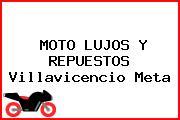 Moto Lujos Y Repuestos Villavicencio Meta