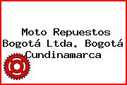 Moto Repuestos Bogotá Ltda. Bogotá Cundinamarca