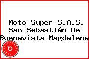 Moto Super S.A.S. San Sebastián De Buenavista Magdalena