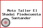 Moto Taller El Shadai Piedecuesta Santander