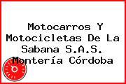 Motocarros Y Motocicletas De La Sabana S.A.S. Montería Córdoba