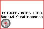 MOTOCERVANTES LTDA. Bogotá Cundinamarca