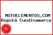 MOTOELEMENTOS.COM Bogotá Cundinamarca