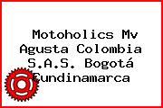 Motoholics Mv Agusta Colombia S.A.S. Bogotá Cundinamarca