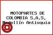 MOTOPARTES DE COLOMBIA S.A.S. Medellín Antioquia
