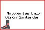 Motopartes Emix Girón Santander