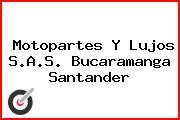 Motopartes Y Lujos S.A.S. Bucaramanga Santander