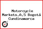 Motorcycle Markets.A.S Bogotá Cundinamarca
