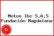 Motos Ibc S.A.S Fundación Magdalena