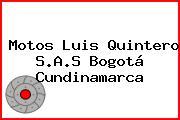 Motos Luis Quintero S.A.S Bogotá Cundinamarca