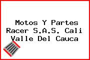 Motos Y Partes Racer S.A.S. Cali Valle Del Cauca