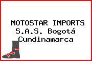 MOTOSTAR IMPORTS S.A.S. Bogotá Cundinamarca