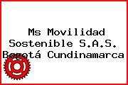 Ms Movilidad Sostenible S.A.S. Bogotá Cundinamarca