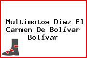 Multimotos Diaz El Carmen De Bolívar Bolívar