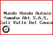 Mundo Honda Auteco Yamaha Akt S.A.S. Cali Valle Del Cauca