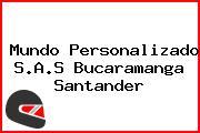 Mundo Personalizado S.A.S Bucaramanga Santander