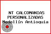 NT CALCOMANIAS PERSONALIZADAS Medellín Antioquia