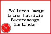 Pallares Amaya Irina Patricia Bucaramanga Santander