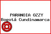 PARANOIA OZZY Bogotá Cundinamarca