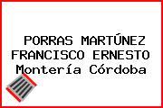 PORRAS MARTÚNEZ FRANCISCO ERNESTO Montería Córdoba