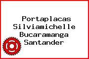 Portaplacas Silviamichelle Bucaramanga Santander