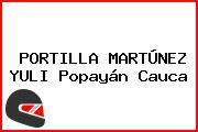 PORTILLA MARTÚNEZ YULI Popayán Cauca