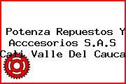 Potenza Repuestos Y Acccesorios S.A.S Cali Valle Del Cauca