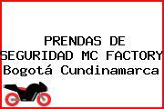 PRENDAS DE SEGURIDAD MC FACTORY Bogotá Cundinamarca