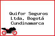 Quifor Seguros Ltda. Bogotá Cundinamarca