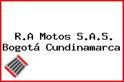 R.A Motos S.A.S. Bogotá Cundinamarca