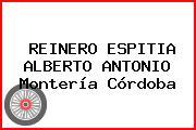 REINERO ESPITIA ALBERTO ANTONIO Montería Córdoba