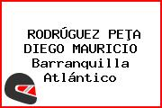 RODRÚGUEZ PEÞA DIEGO MAURICIO Barranquilla Atlántico