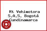 Rt Vehimotora S.A.S. Bogotá Cundinamarca