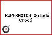RUPERMOTOS Quibdó Chocó