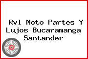 Rvl Moto Partes Y Lujos Bucaramanga Santander