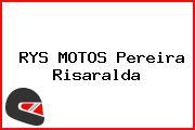 RYS MOTOS Pereira Risaralda